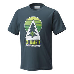 Columbia Boy's Always Outside Short Sleeve T Shirt