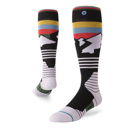 Stance Men's Wind Range All Snow Socks Black