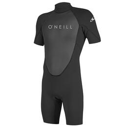 O'Neill Men's Reactor II 2mm Back Zip Short Sleeve Spring Wetsuit
