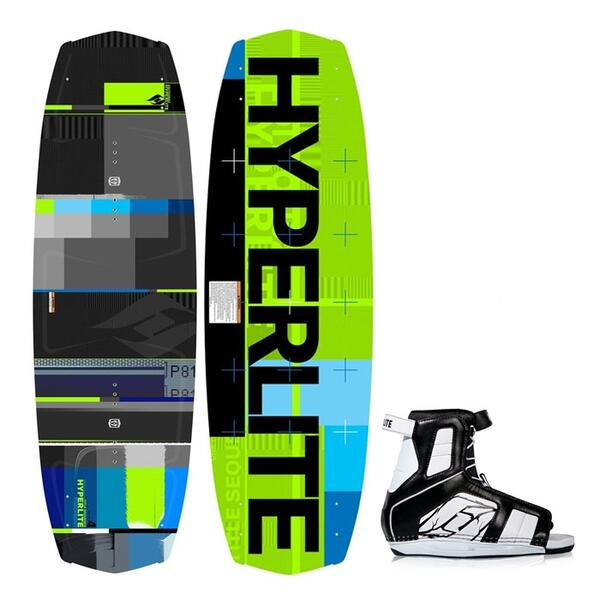 Hyperlite Forefront Wakeboard w/Remix Bindings '13