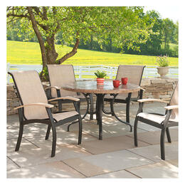 Telescope Casual Belle Isle Beachwood 7-Piece Dining Set