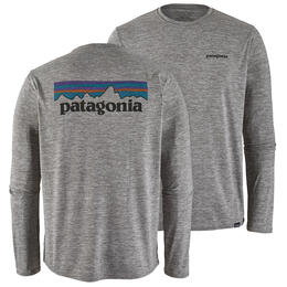 Patagonia Men's Long Sleeved Capilene Cool Daily Graphic Shirt