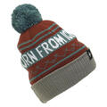 Ski The East Men's Born From Ice Pom Beanie Maroon