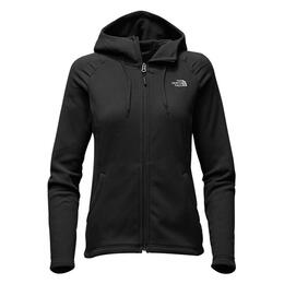 The North Face Women's Mezzaluna Fleece Hooded Jacket
