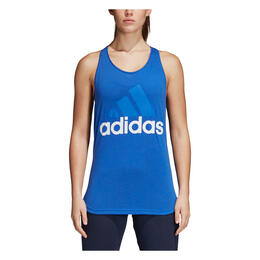 Adidas Women's Essentials Linear Loose Tank Top Hi-Res Blue