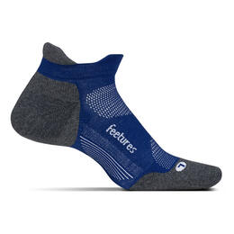 Feetures Men's Elite No Show Tab Max Cushion Running Socks