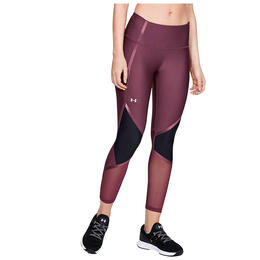 Under Armour Women's HeatGear Shine Ankle Crop Leggings