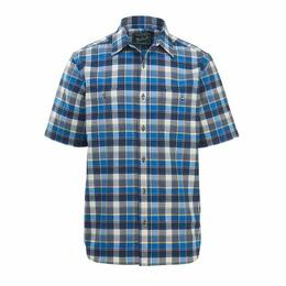 Woolrich Men's Eco Rich Midway Yarn-dye Short Sleeve Shirt