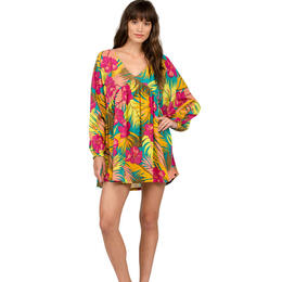Volcom Women's Hot Tropic Kaftan