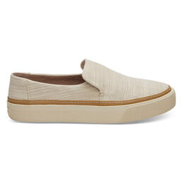 Toms Women's Sunset Casual Slip On Shoes Natural