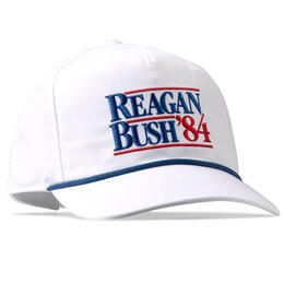Rowdy Gentleman Men's Reagan Bush '84 Rope Hat