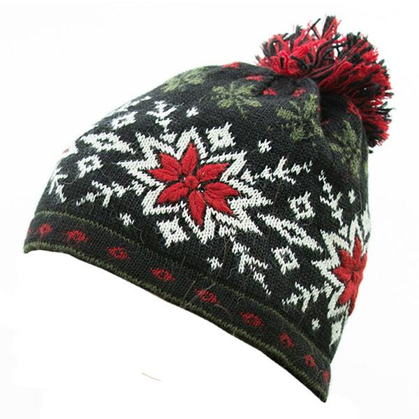Sweet Turns Women's Snowflake Ski Hat