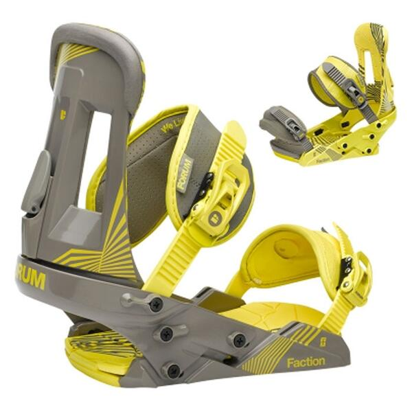 Forum Men's The Faction Snowboard Bindings '13