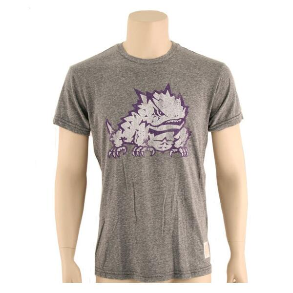 Original Retro Brand Men's Tcu Frog Tee Shirt