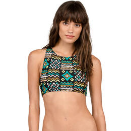 Volcom Tribal Instincts Reversible Crop Bikini Top
