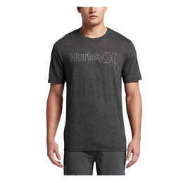 Hurley Men's One And Only Outlne Short Sleeve T Shirt
