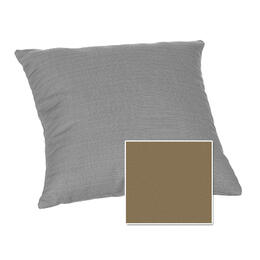 Casual Cushion Corp. 15x15 Throw Pillow - Canvas Hemp