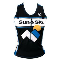 Canari Women's Sun & Ski AIM Team Tri Top