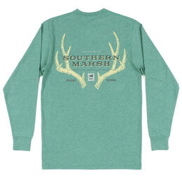 Southern Marsh Men's Origins Rack Long Sleeve Tee Shirt
