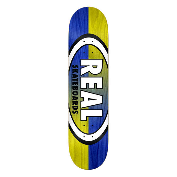 Real Double Dipped Oval 8.06 Skateboard Deck