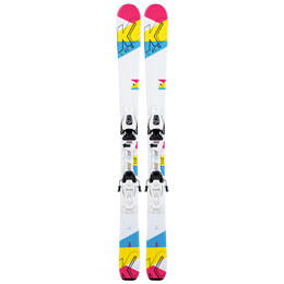 K2 Girl's Luv Bug Skis with Marker 4.5 FDT Bindings '20