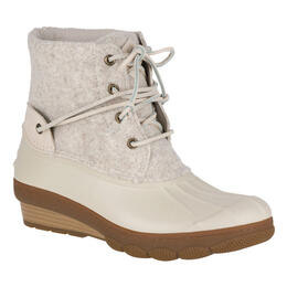 Sperry Women's Saltwater Wedge Tide Wool Duck Boots