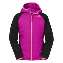 The North Face Girl's Quilted Fleece Hoodie