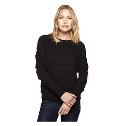 good hYOUman Women's Smith Boyfriend Crew Pullover