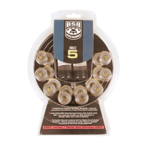 Bravo Abec 5 Bearings 16 Pack