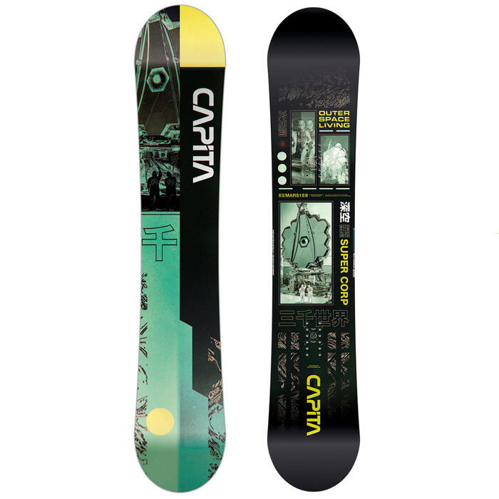 CAPiTA Men's Outerspace Living Wide Snowboa