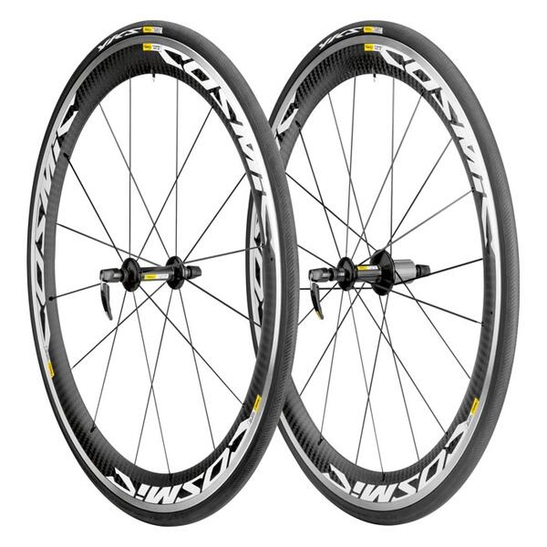 Mavic Cosmic Carbone SLS Clincher Road Bike Wheelset and Tire System '14