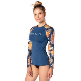 Rip Curl Women's Sunsetters Relaxed Long Sleeve Rash Guard