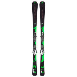 Head Men's V Shape V4 XL Snow Skis With PR 10 G W Bindings '20