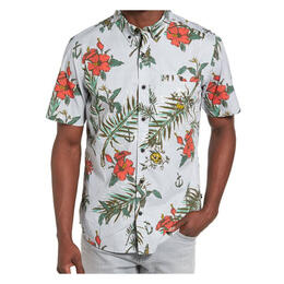 Hurley Men's Montauk Short Sleeve Button Up Shirt