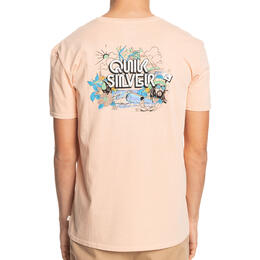 Quiksilver Men's Informal Disco Organic Short Sleeve T Shirt