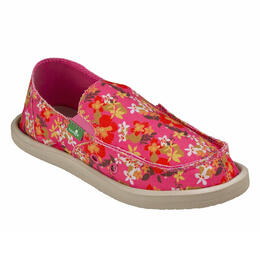Sanuk Girl's Lil Donna Aloha Slip-on Shoes