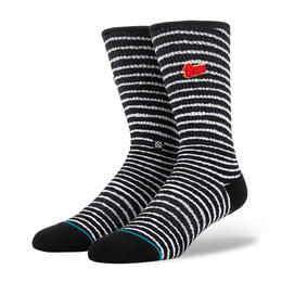 Stance Men's Black Star Socks