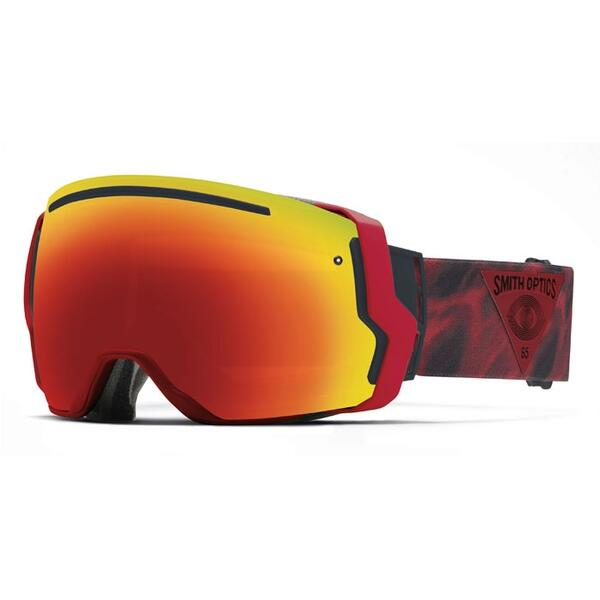Smith I/O7 Snow Goggles with Red Sol-X Lens