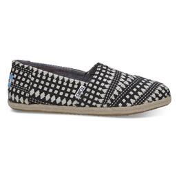 Toms Women's Alpargata Casual Shoes Black Diamond