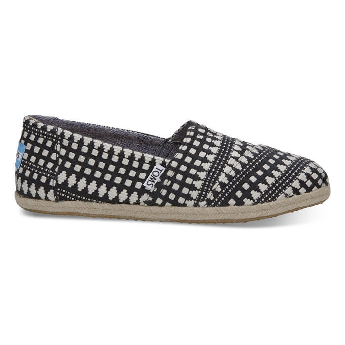 Toms Women's Alpargata Casual Shoes Black D