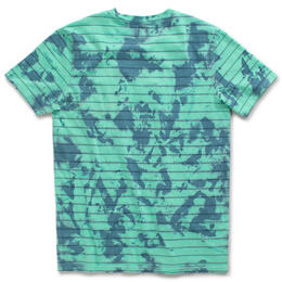 Vans Men's Tiedye Checker Stripe T Shirt
