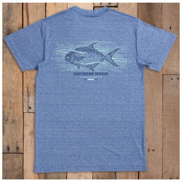 Southern Marsh Men's Fieldtec Performance T Shirt Pompano