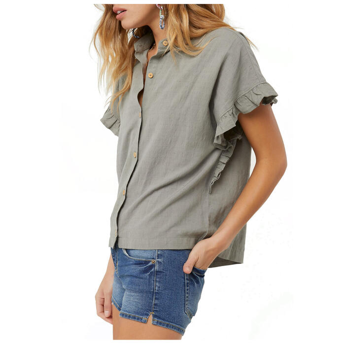 O'neill Women's Emery Camp Short Sleeve But