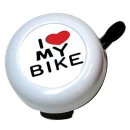 Sunlite I Love My Bike Full Ringer Bike Bell