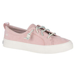 Sperry Women's Crest Vibe Rose Washable Leather Casual Shoes
