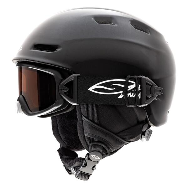 Smith Youth Galaxy/Cosmos Jr Integrated Snow Helmet/Goggle Pack