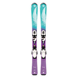 Blizzard Junior Girl's Pearl All Mountain Skis w/ FDT 4.5 Bindings '19