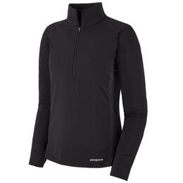 Patagonia Women's All Weather Zip-Neck Long Sleeve Top