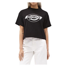 Dickies Girl Women's Cropped French Terry T Shirt
