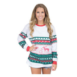 Lauren James Women's Christmas Sweater Tee